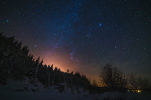 Milky way from Svanstul,